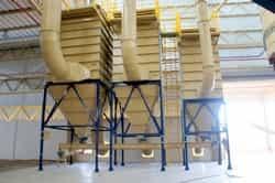 Empresa de sistema pneumático de transporte de pó